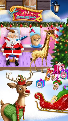 Christmas Animal Hair Salon 2  Screenshots 2