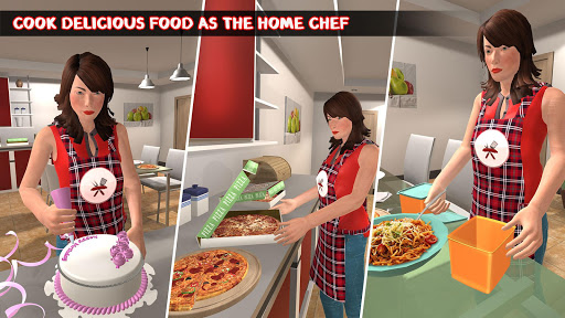 Home Chef Mom 2020 : Family Games screenshots 2