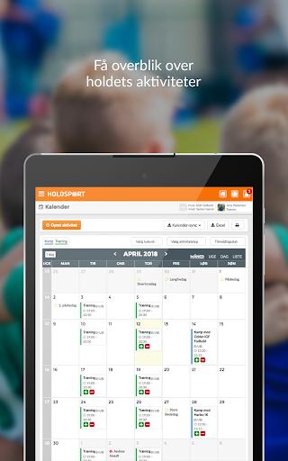 Holdsport - Hurtig tilmelding & kontingentbetaling 6.6.348 screenshots 6