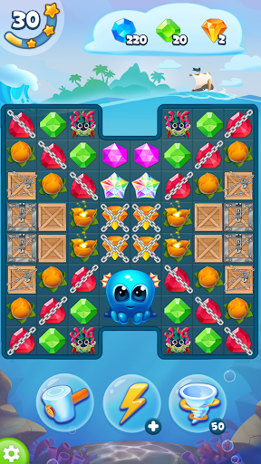 Pirate Treasures - Gems Puzzle 2.0.0.97 screenshots 8