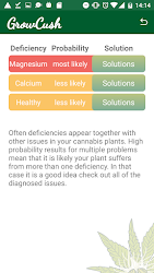 GrowCush - Cannabis deficiency detection .APK Preview 4