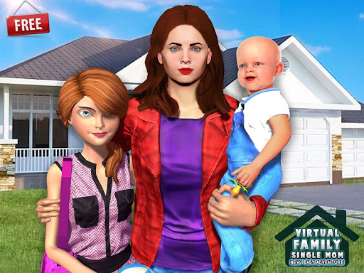 New Baby Single Mom Family Adventure apkdebit screenshots 10
