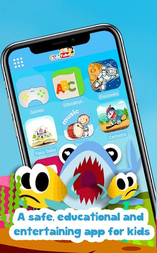 KidsTube - Youtube For Kids And Safe Cartoon Video screenshots 1