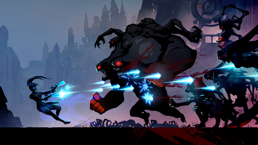 Shadow Knight Legends: New Fighting Game apkslow screenshots 9