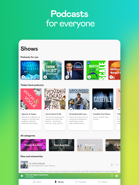 Deezer Music Player: Songs, Playlists & Podcasts  poster 12