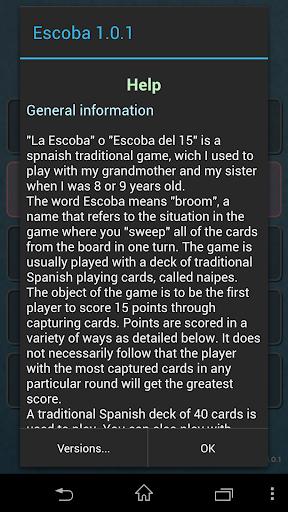 Escoba / Broom cards game 1.3.4 Screenshots 8