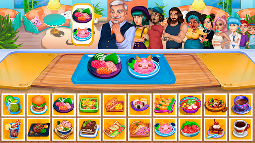 Cooking Fantasy: Be a Chef in a Restaurant Game apkmr screenshots 4