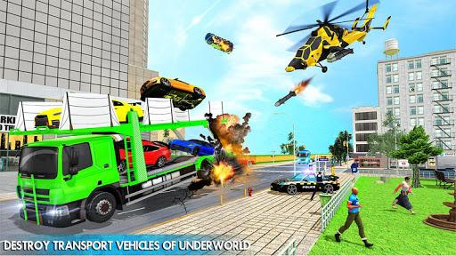 Helicopter Robot Transform War u2013 Air robot games  screenshots 8