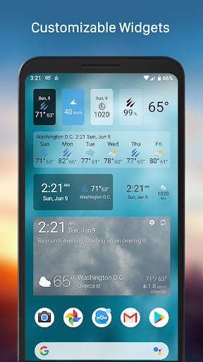 Weather & Widget - Weawow android2mod screenshots 2