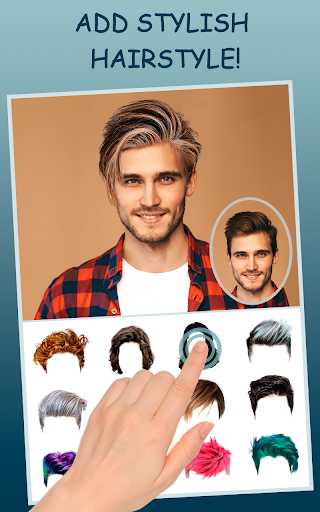 Men Makeup Photo Editor Handsome!ud83cudfc6 1.4.8 Screenshots 11