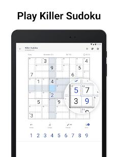 Killer Sudoku by Sudoku.com - Free Number Puzzle