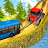 Chained Tractor Towing Bus 3D Simulation Game 2020