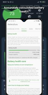 Battery Guru – Battery Monitor – Battery Saver MOD (Ad-Free) 5