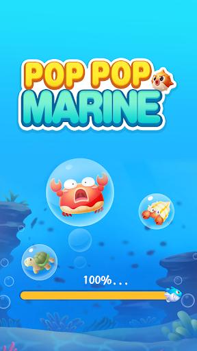 Pop Pop Marine - Blast Game 1.0.6 screenshots 1