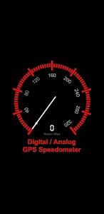 Digital / Analog GPS Speedometer 1.1