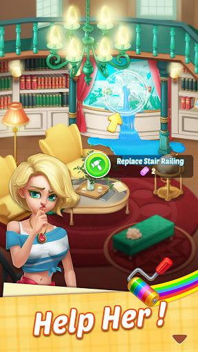 My Mansion u2013 match 3 & design home android2mod screenshots 7