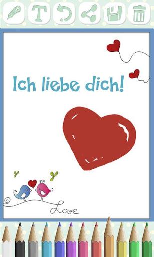 Liebessprüche und Liebeskarten For PC Windows (7, 8, 10, 10X) & Mac Computer Image Number- 5