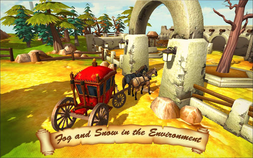 Horse Taxi City Transport: Horse Riding Games 1.2.1 screenshots 3