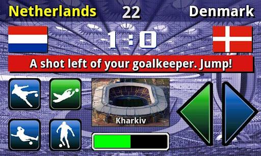EURO 2012 Football/Soccer Game  screenshots 3