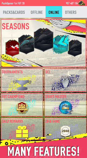 Pack Opener for FUT 20 by SMOQ GAMES 4.49 Screenshots 24