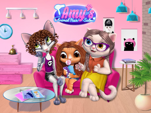 Amy's Animal Hair Salon - Cat Fashion & Hairstyles android2mod screenshots 9
