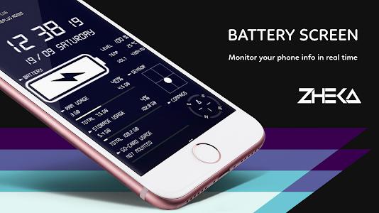 Digital Clock & Battery Charge 6.0.4 (VIP)
