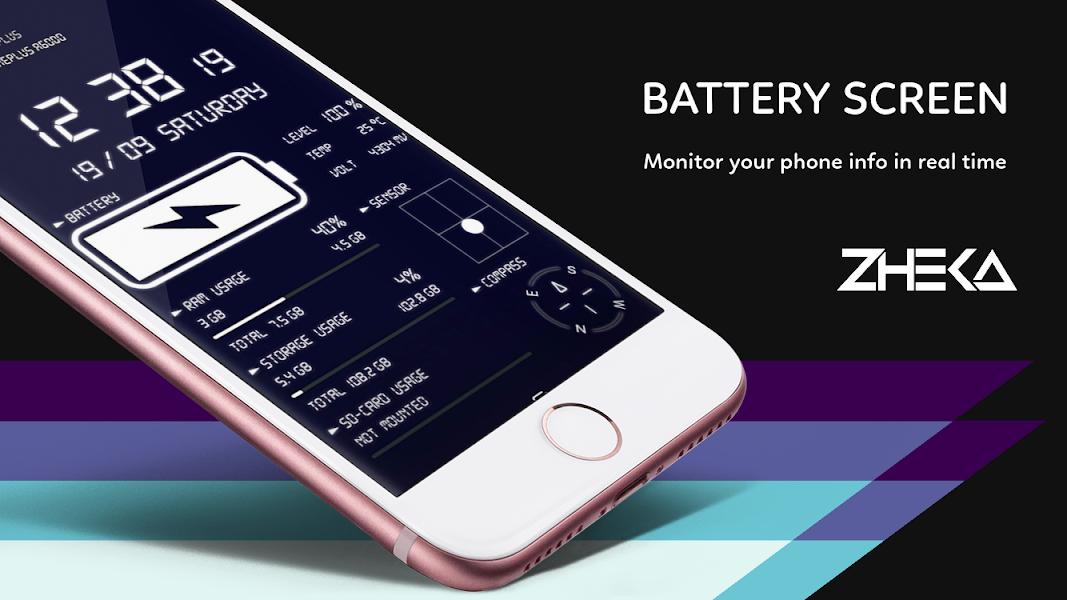 Phone & Battery Info Live Wallpaper