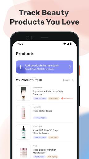 TroveSkin 2.0 Skincare Tracker Apkfinish screenshots 10