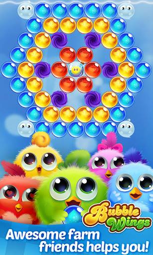 Bubble Wings: offline bubble shooter games 2.5.7 screenshots 4