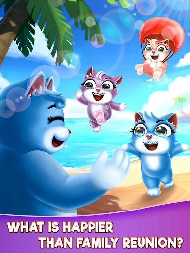 Cat Pop Island: Bubble Shooter Adventure 8.5 screenshots 15