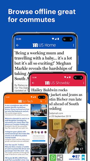 Daily Mail Online screenshots 8