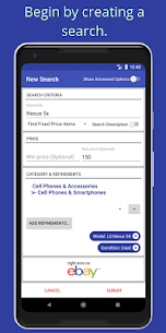Free eFerret – eBay Search alerts and deal finder 3