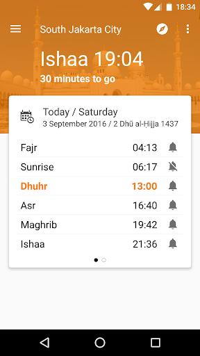 Waktu Salat, Imsakiyah, Qibla 6.0.6 Screenshots 1