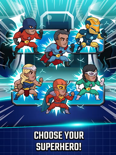 Super League of Heroes - Comic Book Champions screenshots 8