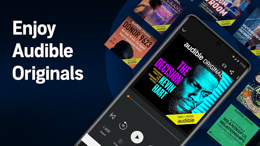 Audible: audiobooks, podcasts & audio stories android2mod screenshots 4