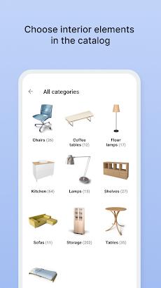 拡張現実デコレーター – お部屋のインテリアシミュレーションアプリのおすすめ画像1