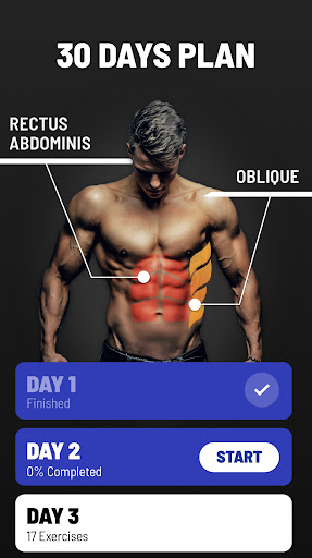 Six Pack in 30 Days - Abs Workout android2mod screenshots 2