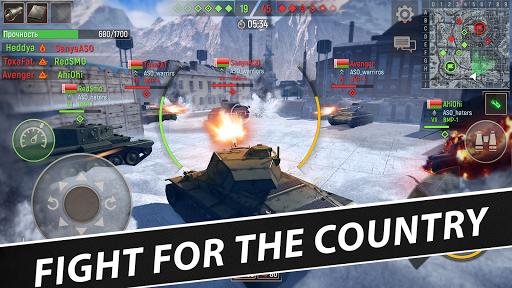 Battle Tanks: Game - Free Tank Games Military PVP  screenshots 7