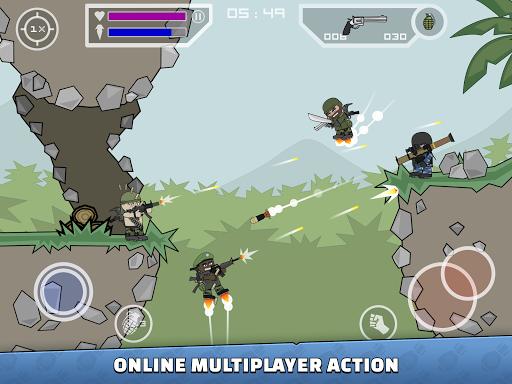Mini Militia - Doodle Army 2 screenshots 8