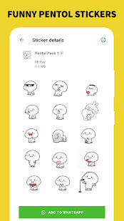 Pentol Animated Stickers - Funny WAStickerApps