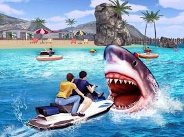 Angry Shark 3D Simulator Game