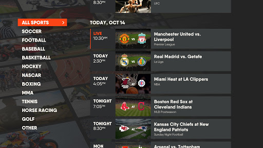 fuboTV: Watch Live Sports & TV 4.39.2 Screenshots 8