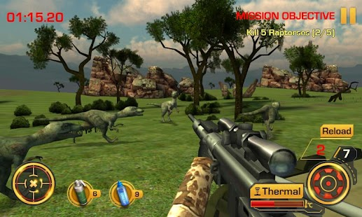 Wild Hunter 3D Screenshot