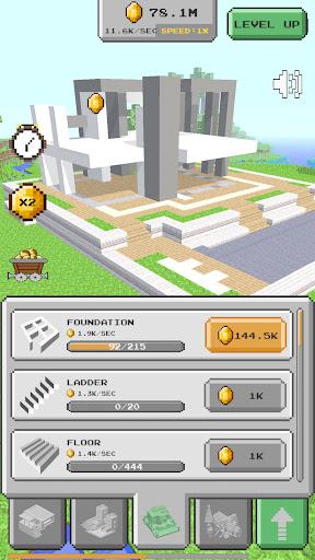 House Craft 3D - Idle Block Building Game Apkfinish screenshots 4