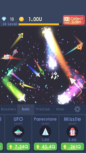 Idle Rocket - Aircraft Evolution & Space Battle  screenshots 4