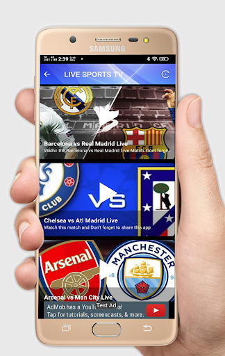 Live Soccer tv - Live Football App ab.1.0.1 Screenshots 1