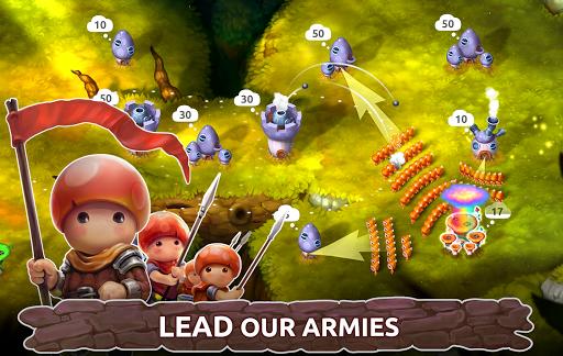 Mushroom Wars 2: RTS Tower Defense & Mushroom War apkpoly screenshots 3