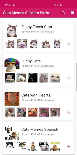جديد مضحك ملصقات القط Wastickerapps التطبيقات على Google Play