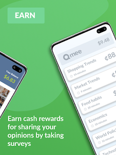 Qmee: Instant Cash for Surveys Screenshot