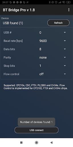 BT/USB/TCP Bridge Pro